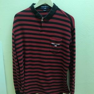 Vintage polo sport Ralph Lauren striped rugby